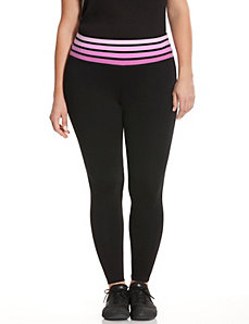 Signature Stretch ombre stripe active legging