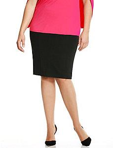 6th & Lane fold-over pencil skirt