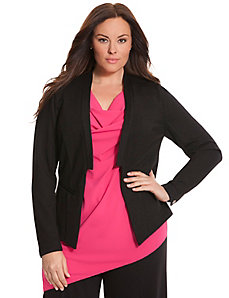 6th & Lane collarless blazer
