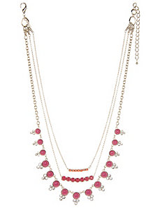Beaded 3 in 1 necklace