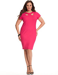6th & Lane cutout sheath dress