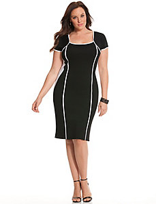6th & Lane bodycon sweater dress