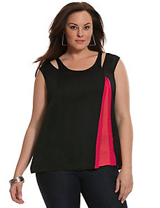 6th & Lane colorblock tank