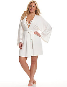 Tru to You lace back robe