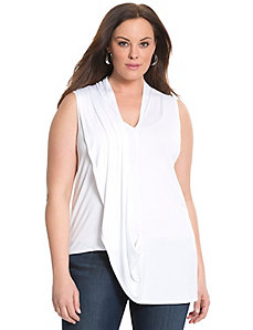 6th & Lane draped shoulder top