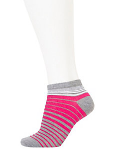 Striped low cut sock 3-pack