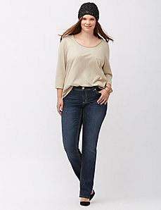 Straight leg jean by Melissa McCarthy Seven7