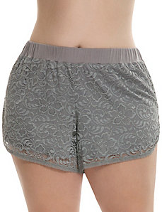 Lace sleep short