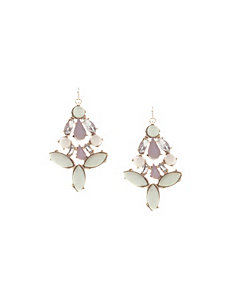 Pop color statement earrings