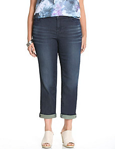 Bleecker knit denim crop by DKNY JEANS