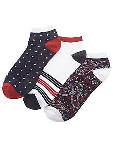 Americana sport sock 3-pack