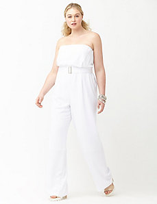 6th & Lane strapless jumpsuit