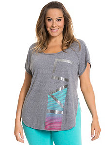 Livi foiled graphic tee
