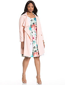 Pastel trench coat by MODAMIX