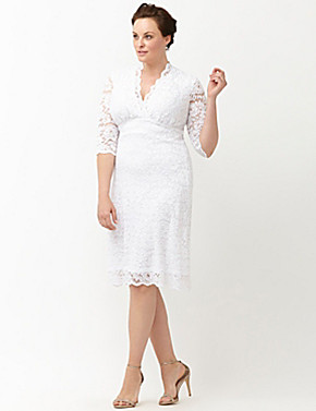 lane bryant wedding dresses luxe lace wedding dress by kiyonna bryant 5390