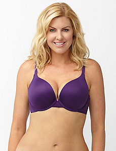 Smooth Boost plunge bra with sporty trim