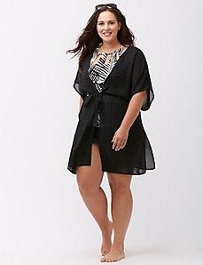 Georgette swim cover up