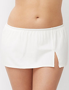 Flirty swim skirt