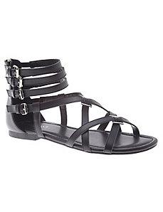 Leonora leather gladiator sandal