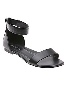 Valeria leather ankle strap sandal