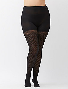 SPANX&reg Girl's Best Friend patterned tights
