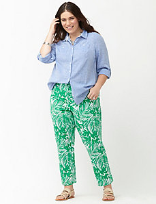 Lena printed Smart Stretch crop