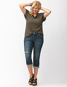 Distressed Weekend capri