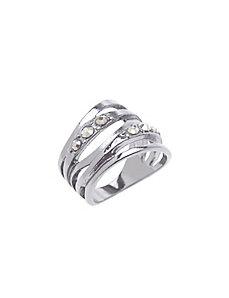 Faux wrap ring