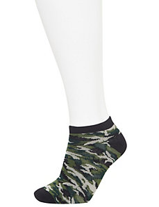 Camo low cut sock 3-pack