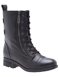 Ravenna leather combat boot