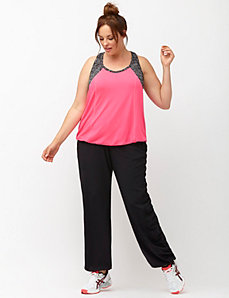 Performance Stretch ruched active pant