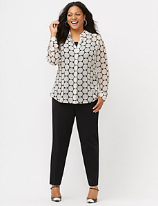 The Muse dot print shirt