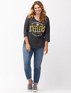 Pittsburgh Steelers 3/4 sleeve tee