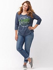 Seattle Seahawks 3/4 sleeve tee