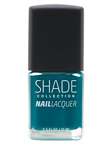 Teal nail lacquer