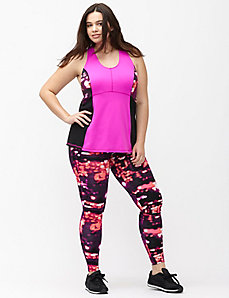 Signature Stretch printed active legging