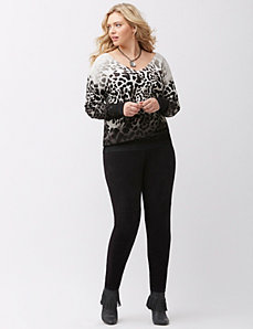 Faux suede legging by Lysse