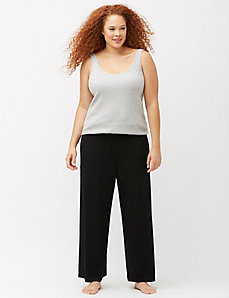 Wide leg sleep pant