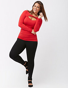 Center seam ponte legging by Lysse