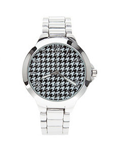 Houndstooth face watch