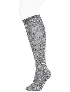 Super soft marled boot sock