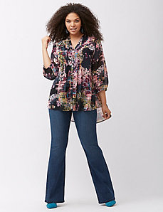 Aztec flare jean by Melissa McCarthy Seven7