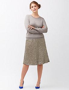 Sequin skirt by Lela Rose