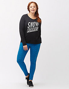 Snow Worries graphic tee