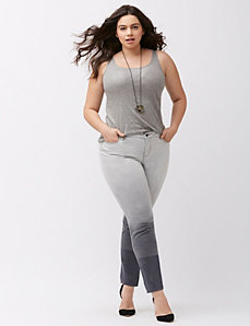 Ombre skinny jean by DKNY JEANS