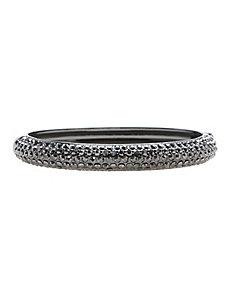 Curved Pave Hinge Bracelet