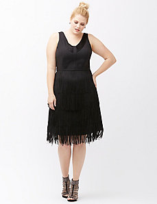 6th & Lane fringe dress