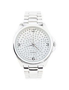 Glitter dot watch