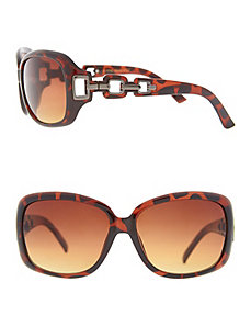 Tortoiseshell sunglasses with cut outs