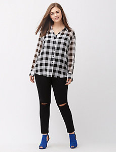 The Muse Plaid shirt